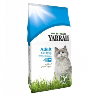 Pienso gatos pescado YARRAH 800 gr