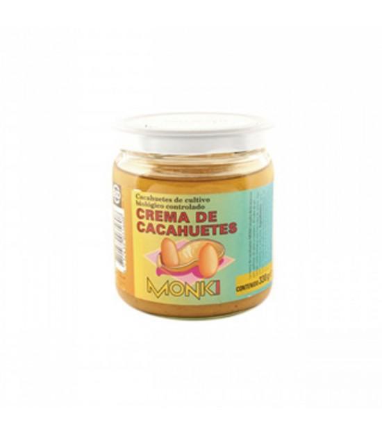 Crema cacahuete MONKI 330 gr