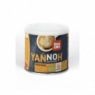 Cafe cereales instantaneo YANNOH 125 gr BIO