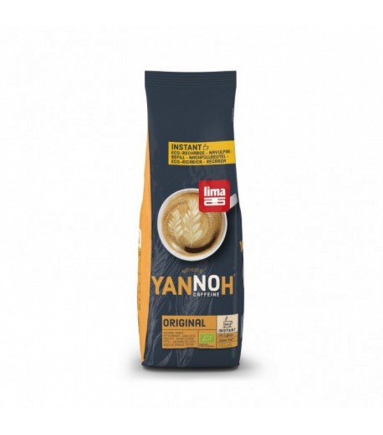Cafe cereales instantaneo recambio YANNOH 250 gr BIO