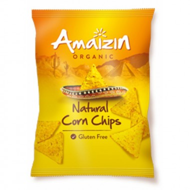 Chips maiz natural AMAIZIN 250 gr BIO