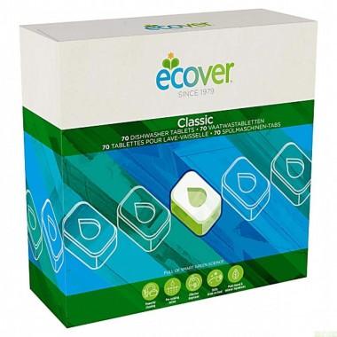 Tableta lavavajillas classic 70 ud ECOVER 1,4 kg
