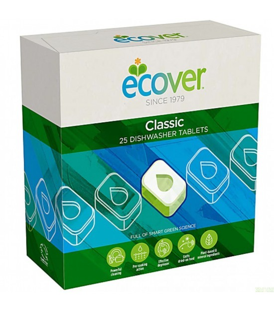 Tabletas lavavajilla classic 25 ud ECOVER