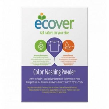 Detergente polvo lavadora ropa color ECOVER 1,2 kg