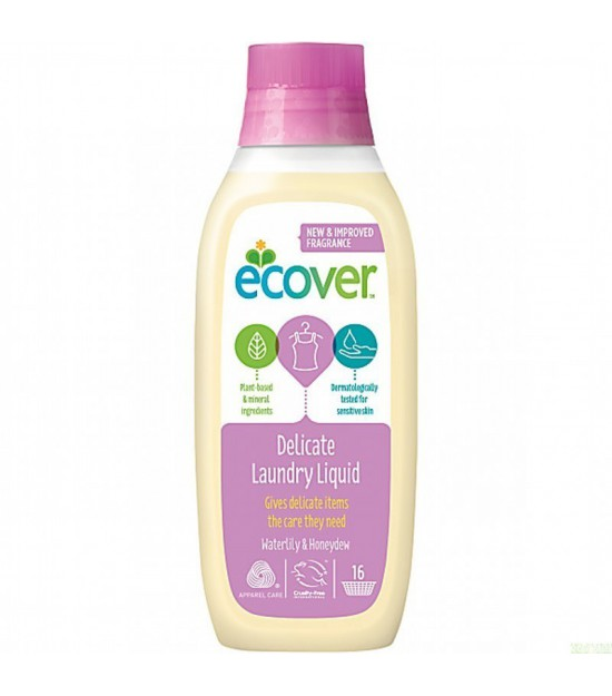 Detergente liquido ropa delicada ECOVER 750 ml