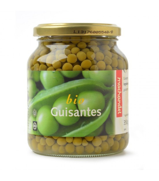 Guisantes bote MACHANDEL 370 ml BIO