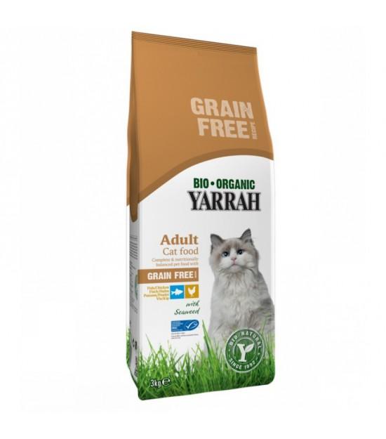 Pienso gatos pollo YARRAH 2,4 kg