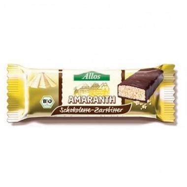 Barrita amaranto chocolate negro (16 ud) ALLOS 25 gr BIO