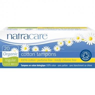 Tampon regular sin aplicador (20 ud) NATRACARE