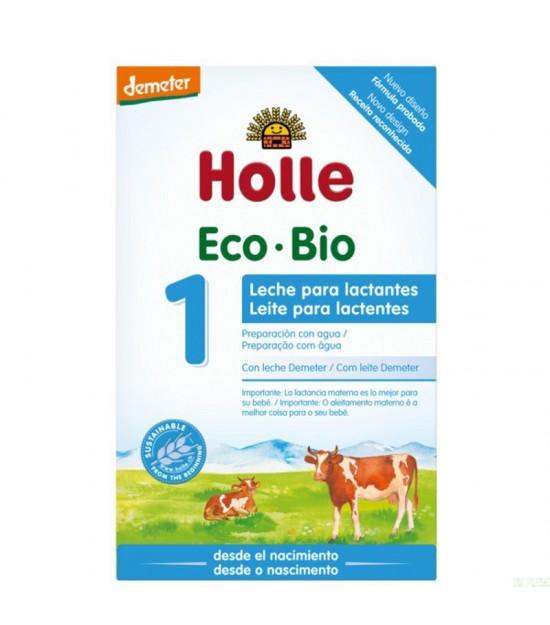 Leche lactantes 1 HOLLE 400 gr DEMETER ECO