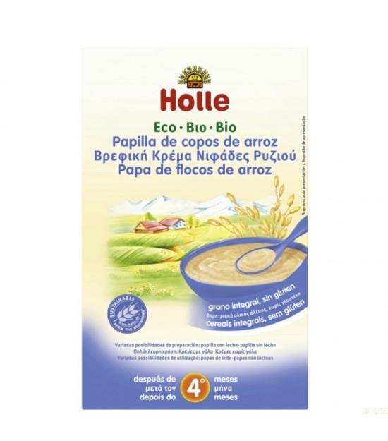 Papilla copos arroz HOLLE 250 gr ECO