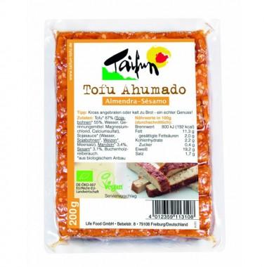 Tofu ahumado almendra sesamo TAIFUN 200 gr BIO