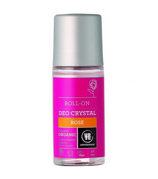 Desodorante roll on rosa URTEKRAM 50 ml BIO