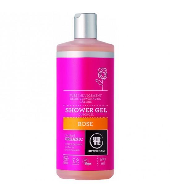 Gel de ducha rosa URTEKRAM 500 ml BIO