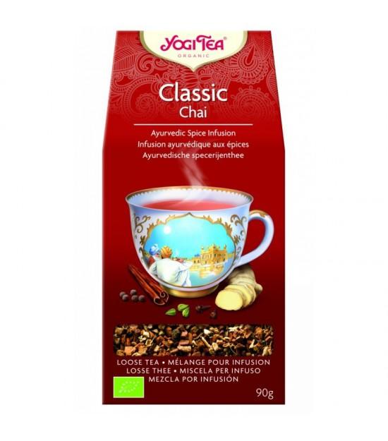 Yogi tea classic chai suelto 90 gr BIO
