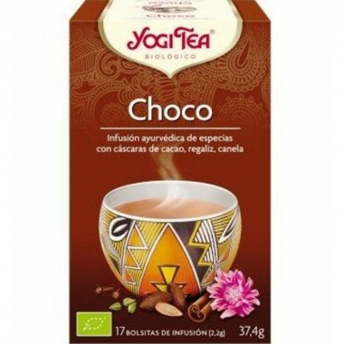 Yogi tea infusion chocolate 17 bolsas BIO