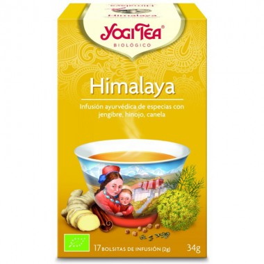 Yogi tea infusion himalaya 17 bolsas BIO