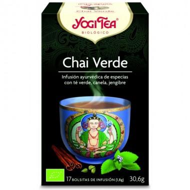 Yogi tea infusion chai verde 17 bolsas BIO
