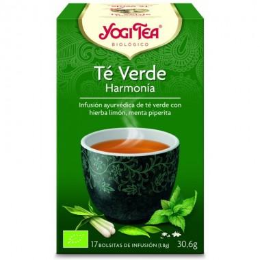 Yogi tea infusion verde armonia 17 bolsas BIO
