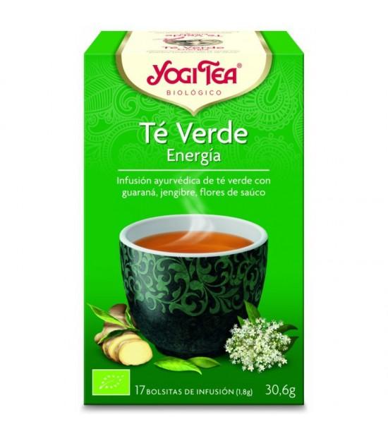 Yogi tea infusion verde energia 17 bolsas BIO