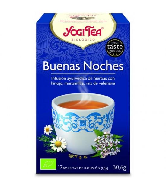 Yogi tea infusion buenas noches 17 bolsas BIO