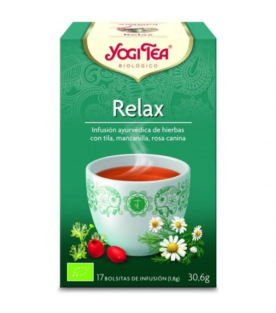 Yogi tea infusion relajante 17 bolsas BIO