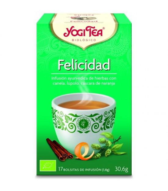Yogi tea infusion felicidad 17 bolsas BIO