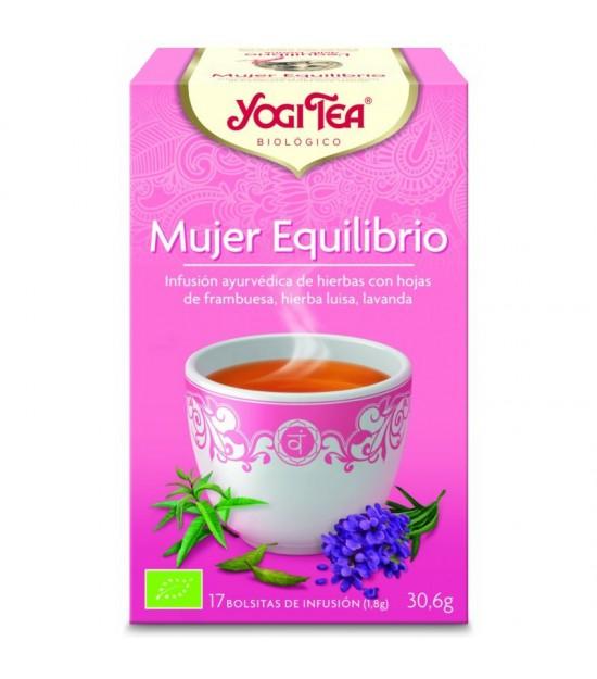 Yogi tea infusion mujer equilibrio 17 bolsas BIO