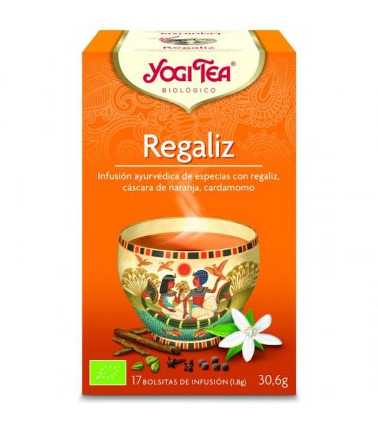 Yogi tea infusion regaliz 17 bolsas BIO