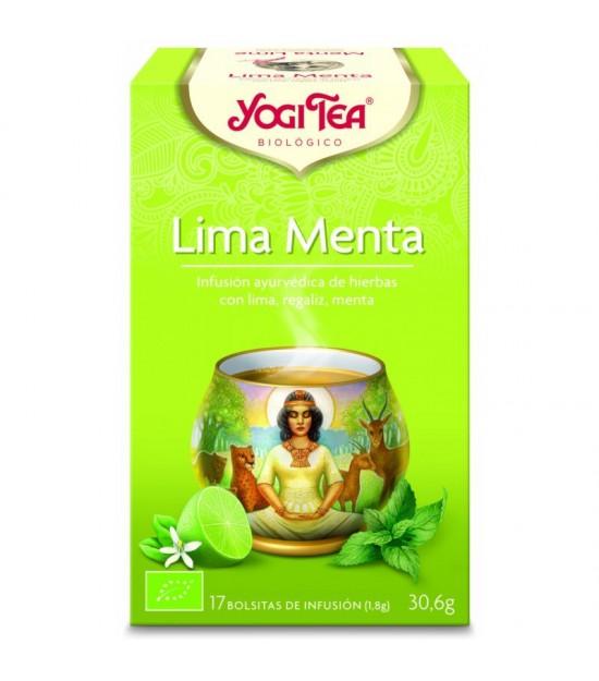 Yogi tea infusion lima menta 17 bolsas BIO