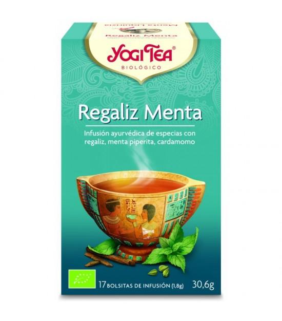 Yogi tea infusion menta regaliz 17 bolsas BIO