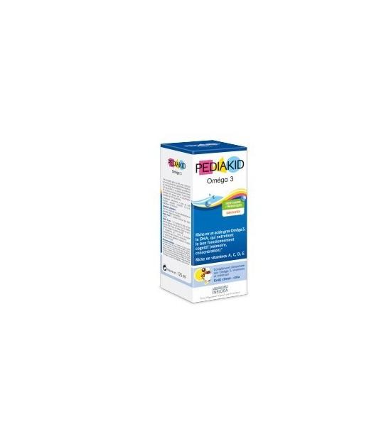 Jarabe Omega 3 concentrado PEDIAKID 125 ml