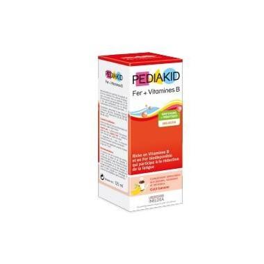 Jarabe infantil de Hierro y vitamina B PEDIAKID 125 ml
