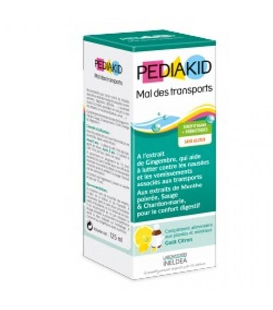 Jarabe infantil mareos menta PEDIAKID 125 ml