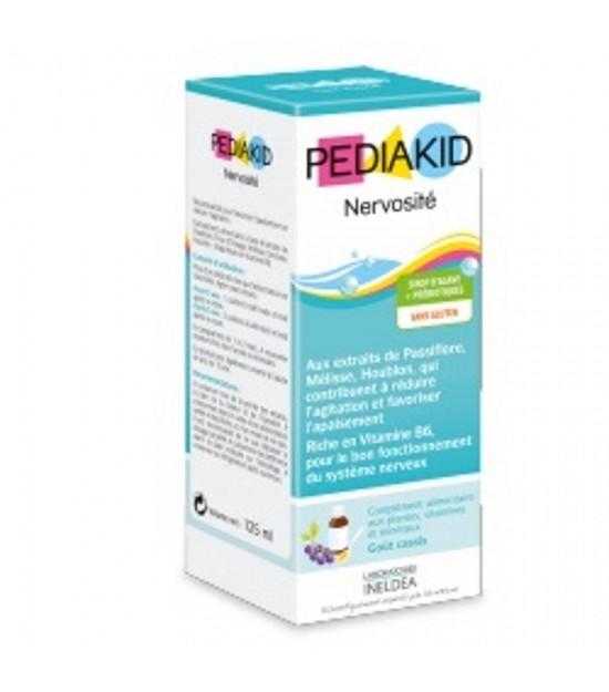 Jarabe infantil nervios grosella PEDIAKID 125 ml