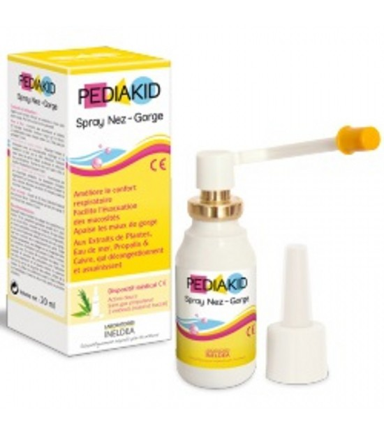 Spray nariz garganta PEDIAKID 20 ml