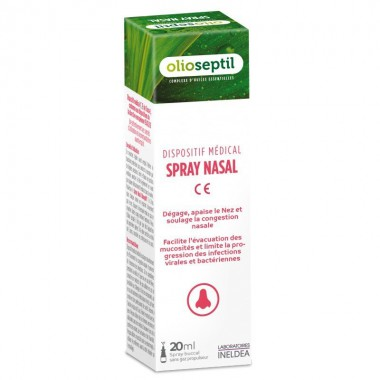 Spray nasal sinus OLIOSEPTIL 20 ml