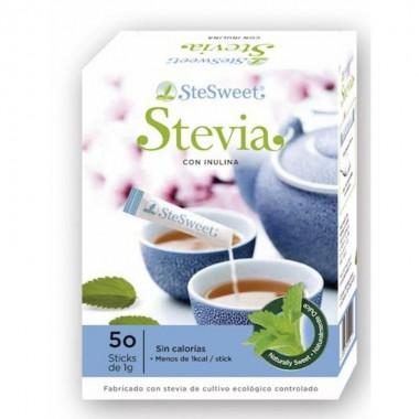Stevia sticks e inulina STESWEET 50 sticks