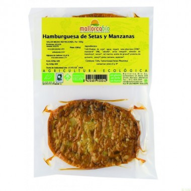 Hamburguesa setas manzana MALLORCA BIO 150 gr