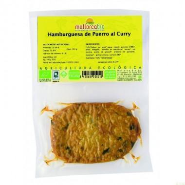 Hamburguesa puerro curry MALLORCA BIO 150 gr