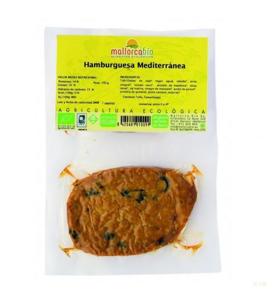 Hamburguesa mediterranea MALLORCA BIO 150 gr