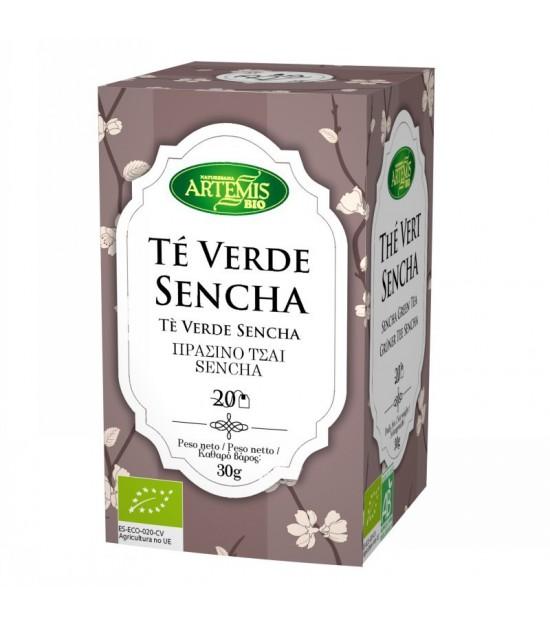 Infusion te verde sencha (20 filtros) ARTEMIS 30 gr