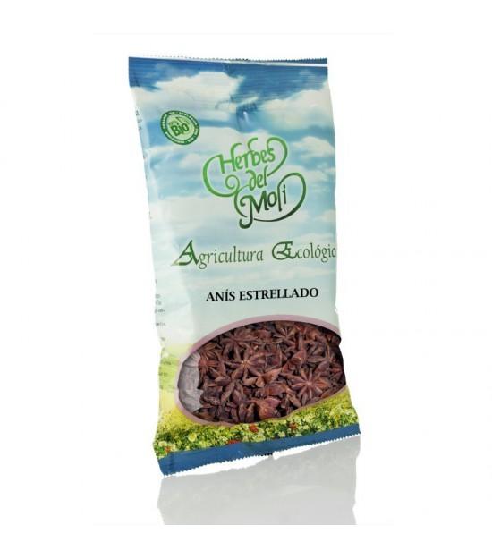 Bolsa anis estrellado semilla HERBES DEL MOLI 60 gr ECO