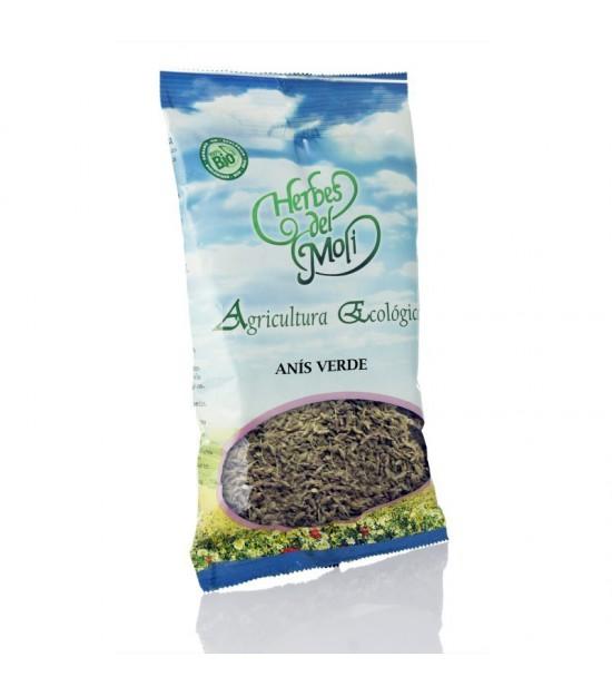 Bolsa anis verde semillas HERBES DEL MOLI 70 gr ECO
