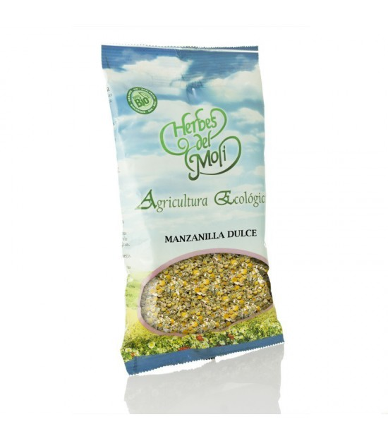 Bolsa manzanilla dulce flor HERBES DEL MOLI 30 gr ECO