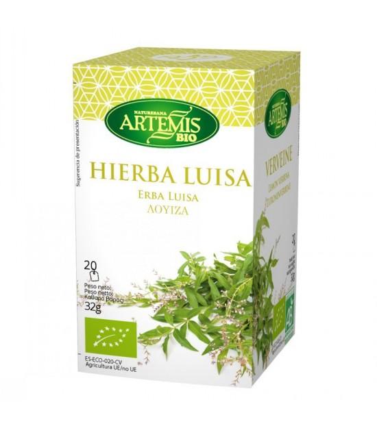 Infusion hierba luisa (20 filtros) ARTEMIS 30 gr