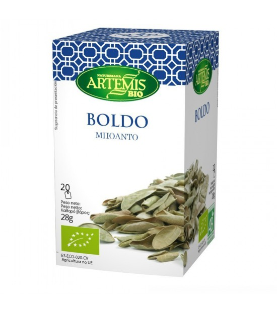 Infusion boldo (20 filtros) ARTEMIS 30 gr