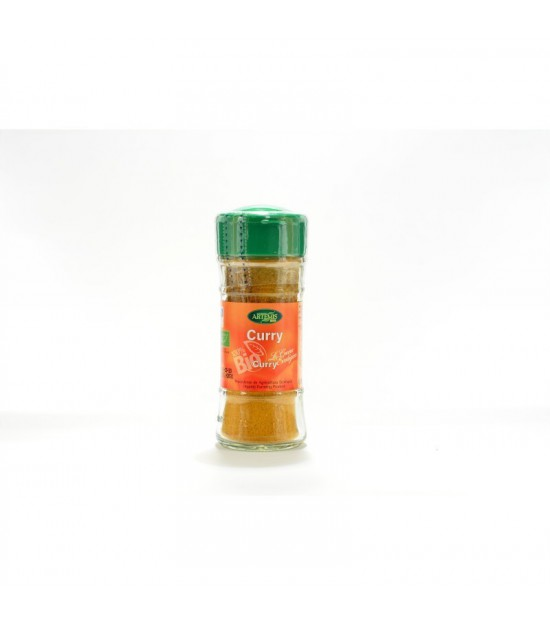 Curry especias ARTEMIS 30 gr BIO