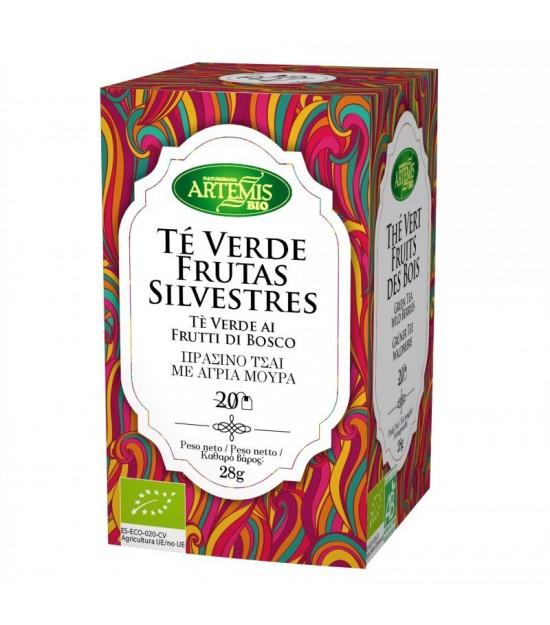 Infusion te verde frutas silvestres (20 filtros) ARTEMIS 30 gr