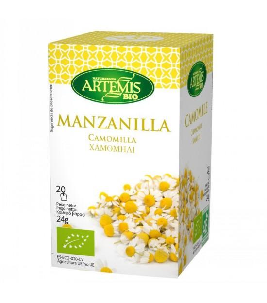 Infusion manzanilla (20 filtros) ARTEMIS 30 gr